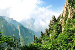Huangshan, porcelaine incroyable Photos stock