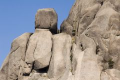 Huangshan Rocks Royalty Free Stock Photos