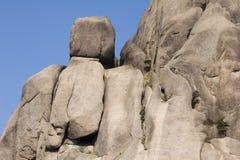Huangshan Rocks Royalty Free Stock Photos