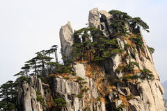 Huangshan Scenery Stock Photos