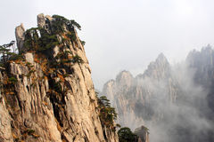 Huangshan Scenery Royalty Free Stock Photography