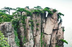 Huangshan set of peaks Royalty Free Stock Photo