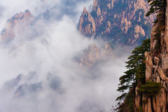 Huangshan(yellow) Mountain Stock Image