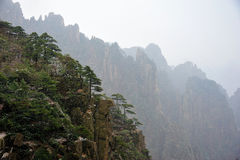 Huangshan(yellow) Mountain Royalty Free Stock Photo