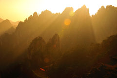 Huangshan(yellow) Mountain Royalty Free Stock Photo
