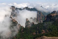 Huangshan (yellow mountain) Stock Image