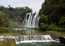 Huanguoshu waterfall Stock Photography