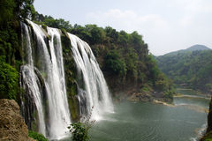 Huanguoshu waterfall Stock Image