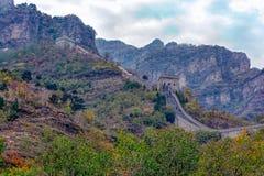 Huangyaguan Great Wall Royalty Free Stock Photos
