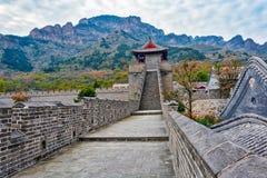 Huangyaguan wielki mur Zdjęcie Stock