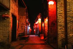 Huangyao ancient town in china Royalty Free Stock Image