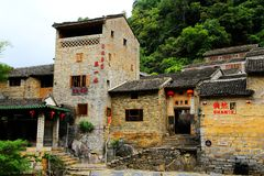 Huangyao ancient town in china. Huangyao ancient town has nearly a thousand years of history, originated from the Song Dynasty , built in the Wanli of the Ming Stock Photos