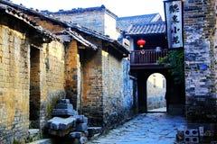 Huangyao antyczny miasteczko w porcelanie obrazy royalty free