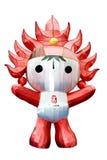Huanhuan das Peking-olympische Maskottchen Stockfoto