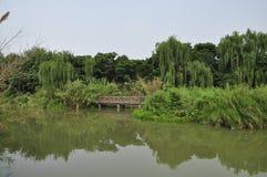 HUANHUAXI PARK,chengdu china. CHENGDU CHINA HUAN HUA XI PARK stock photos