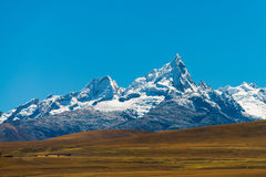 Huantsan in Peru Royalty Free Stock Photo