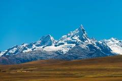 Huantsan in Peru royalty free stock photo