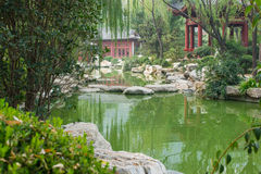 Huaqing-heiße Quelle Lizenzfreie Stockbilder