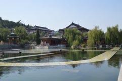 Huaqing pałac blisko Xian Fotografia Royalty Free