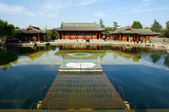 Huaqing Pool Park Stock Images