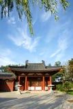 Huaqing Pool Park stock image