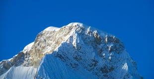 Huascaran Royaltyfri Fotografi