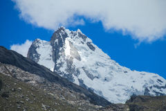 Huascaran Arkivbild