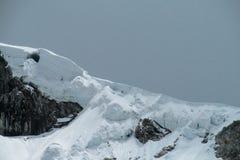 Huascaran bergskedja Fotografering för Bildbyråer