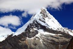 Huascaran di nacional del parque di quitaraju di Nevado Fotografie Stock