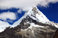 Huascaran för nacional för Nevado quitarajuparque arkivfoton