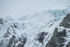 Huascaran glaciar Royalty Free Stock Image