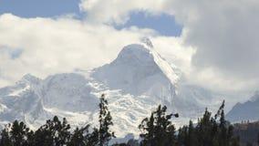Huascaran Glacier, Peruvian Andes Stock Images