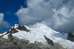 Huascaran mountain range Stock Image