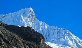 Huascaran mountain range Stock Photo