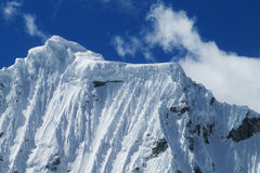 Huascaran mountains glacier stock photos