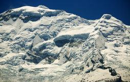 Huascaran Norte Peak Royalty Free Stock Photos