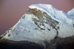 Huascaran Norte Peak Stock Photography
