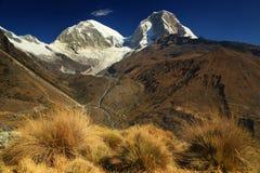Huascaran Norte Peak Stock Photo