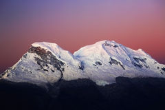 Huascaran Peaks Stock Photos