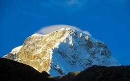 Huascaran Peru Fotografering för Bildbyråer