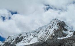 Huascaran snöberg Royaltyfria Bilder