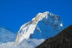 Huascaran snow mountain Royalty Free Stock Photography