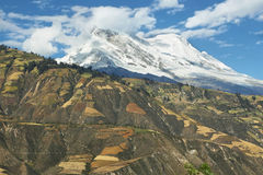 Huascaran-Spitze, Peru Lizenzfreies Stockbild