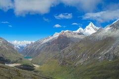 Huascaran valley Royalty Free Stock Images