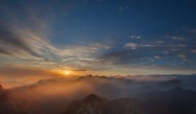 huashan восход солнца Стоковые Изображения