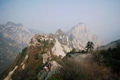 huashan гора Стоковое Изображение RF