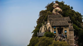 Huashan Berg stockfotografie