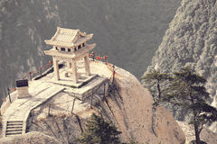 Huashan chess pavilion Stock Photo