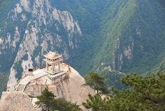 Huashan chess pavilion Royalty Free Stock Image