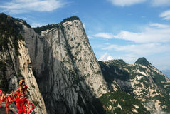Huashan góra zdjęcia stock